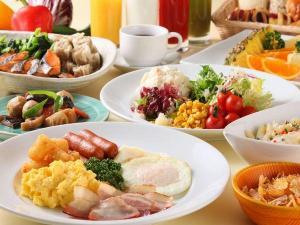 【本館25階 マンハッタンテーブル】約40種類の料理が並ぶ朝食ブッフェ♪
