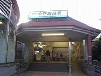 最寄駅 京急穴守稲荷駅 外観