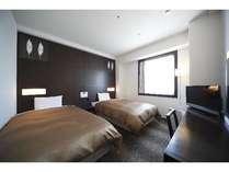 スタンダードツインルーム 20平米 120cmシモンズ社製ベッド2台 各フロア1部屋のみ設置