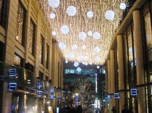 赤坂サカス<BR>(冬のイルミネーション)<BR>ホテルより徒歩7分