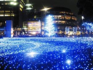東京ミッドタウン<BR>(冬のイルミネーション)