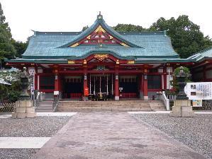 日枝神社<BR>ホテルより徒歩10分