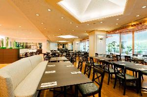 東武ホテルレバント東京2階レストラン ヴェルデュール店内