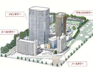 ♪4つのタワーそれぞれに、様々なタイプのお部屋がございます。シーンに合わせてご利用ください。