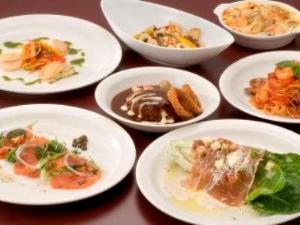 カフェレストラン24 夕食一例