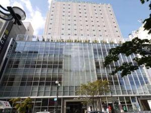 アシル札幌全景5階から14階ホテルルートイン札幌中央