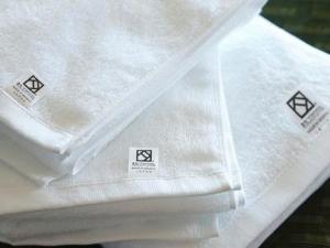 バスタイムが嬉しくなる☆糸の選定から織り方など細部までにこだわった、ホテルオリジナル『泉州タオル』