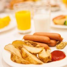 豊富な朝食メニュー