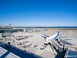 羽田空港からは直通22分!利便性に優れた好立地ホテル( 7 路線利用可能)