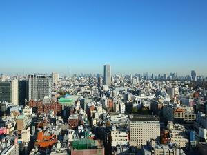 高層階からの景色(東側)(一例)