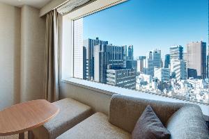 北側を向くお部屋からの眺望イメージ(お部屋の角度により見え方は異なります)