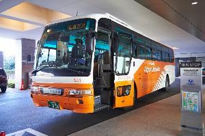 空港からはリムジンバスが便利♪羽田から約40分成田から約80分