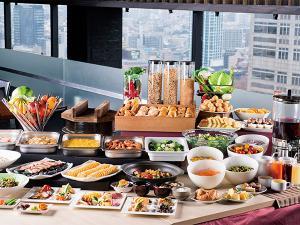 【本館25階マンハッタンテーブル】洋食ブッフェ一例