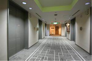 本館エレベータホール