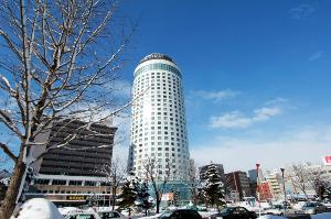 冬の札幌プリンスホテル
