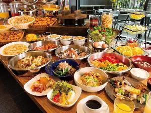 1階ボンサルーテKABUKI 朝食一例(和洋ブッフェ)