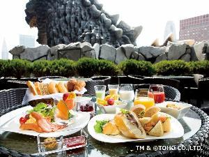 8階ボンジュール 朝食一例(サンドウィッチブッフェ)