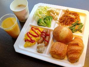 ご朝食【無料でご用意しております。朝6:30〜9:30まで】