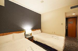 ツインルーム 16.5平米 110cm幅ベッド2台