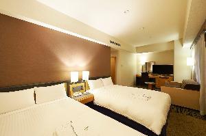 デラックスツイン 33平米 120cm幅ベッド2台