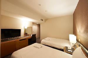 スーペリアツイン 21平米 110cm幅ベッド2台