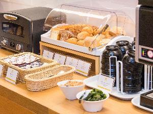 【朝食】営業時間6:30〜9:00 和洋ビュッフェ