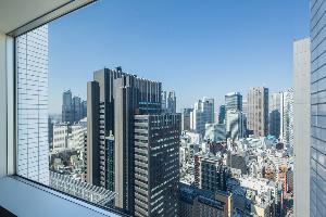 北側のお部屋からの眺望イメージ