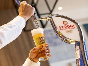 【ペローニ】ここでしか呑めないビール
