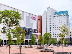 【外観】旭川駅より徒歩2分の好立地。コンビニやイオンモール近く便利です。