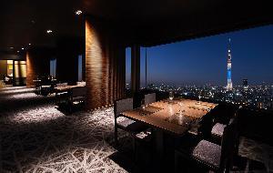 24階スカイツリービューレストラン簾