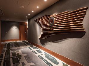 改装エレベーターホール