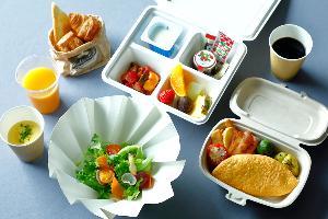 当面の間、朝食(アメリカンブレックファスト)はテイクアウトにてご用意します。
