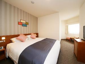 スーペリアダブルルーム(一例)【広さ20.1平米/ベッド幅1.6m】