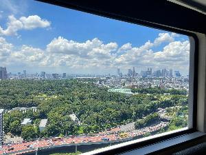 ガーデンタワー客室から望む新宿方面景色